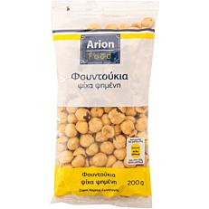 Φουντούκια ARION FOOD ψίχα, ψημένα (200g)