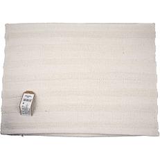Χαλάκι solid λευκό 60x90cm