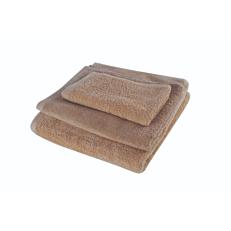 Πετσέτα YASEMI προσώπου 100% βαμβακερή μπεζ 50x100cm