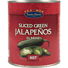 Jalapenos SANTA MARIA green (3kg)