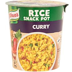 Ημιέτοιμο γεύμα KNORR rice snack potμε κάρυ (87g)