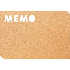 Πίνακας φελλού SECURIT Memo 30x45cm