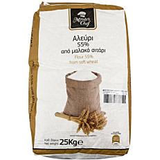Αλεύρι MASTER CHEF τύπου άλεσης 55% (25x1kg)