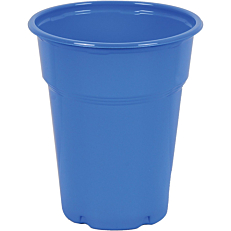 Ποτήρια πλαστικά PP μπλε 300ml (50τεμ.)