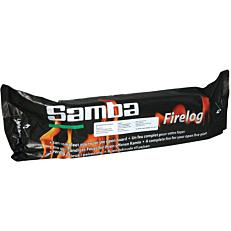 Κορμός ξύλου samba αργής καύσης