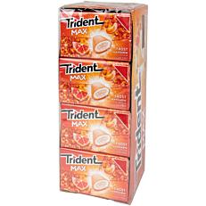 Τσίχλες TRIDENT Max frost mandarin (1τεμ.)