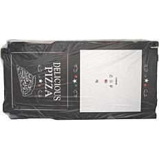 Κουτιά πίτσας microwelle Delicious μαύρο 40x4,2cm (100τεμ.)