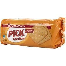 Κράκερ ΠΑΠΑΔΟΠΟΥΛΟΥ PICK Crackers με γεύση μπέικον (100g)