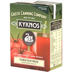 Τομάτα ΚΥΚΝΟΣ φυσικός χυμός (370g)
