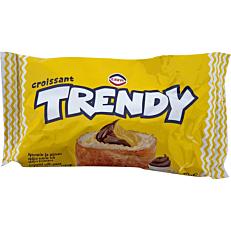 Κρουασάν TRENDY με γέμιση κρέμα κακάο και κρέμα μπανάνα (70g)