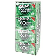Τσίχλες TRIDENT 60 minutes δυόσμος (1τεμ.)