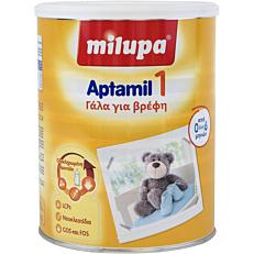Γάλα σε σκόνη MILUPA Aptamil 1 1 για παιδιά από 0 έως 6 μηνών