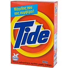 Απορρυπαντικό TIDE για πλύσιμο στο χέρι, σε σκόνη (900g)