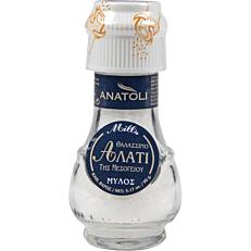 Αλάτι χοντρό ΑΝΑΤΟΛΗ θαλασσινό αλάτι της μεσογείου (90g)