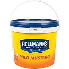 Μουστάρδα HELLMANN'S απαλή (4,8kg)