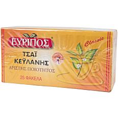 Τσάι EVRIPOS Κεϋλάνης (25x1,5g)