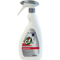 Καθαριστικό CIF professional αφαλατικό μπάνιου, υγρό (750ml)