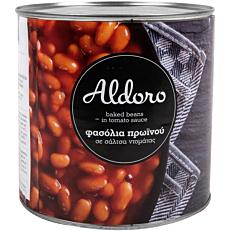 Κονσέρβα ALDORO φασόλια πρωινού (1,562kg)