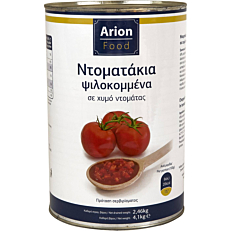 Τοματάκια ARION FOOD ψιλοκομμένα (4,1kg)
