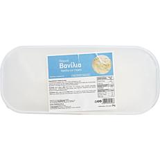 Παγωτό βανίλια συσκευασία 5lt (2kg)
