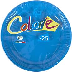 Πιάτα πλαστικά σε μπλε χρώμα 22oz (25τεμ.)