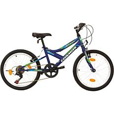 """Ποδήλατο MTB COSMOS JETT 20"""" 6 ταχύτητες Unisex ροζ"""