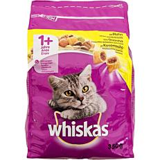 Τροφή WHISKAS γάτας Adult με κοτόπουλο και γεμιστές κροκέτες (350g)