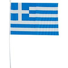Ελληνική σημαία με κονταράκι 28x41cm