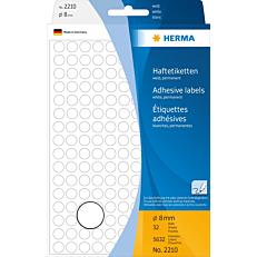 Ετικέτες HERMA 2210 8mm, 32 φύλλα