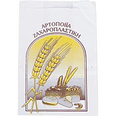 Χαρτοσακούλες λευκές βεζιτάλ για κουλούρι 17x26cm (5kg)