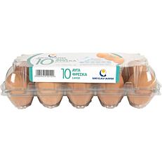 Αυγά ΜΕΓΑΦΑΡΜ φρέσκα Α' κατηγορίας (10x63-73g)