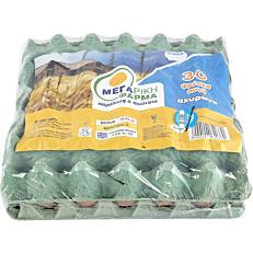 Αυγά ΜΕΓΑΡΙΚΗ ΦΑΡΜΑ φρέσκα αχυρώνα (30x53-63g)