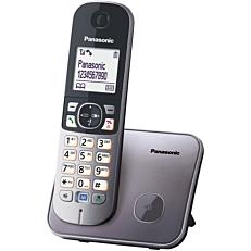 Τηλέφωνο PANASONIC KX-TG6811 ασύρματο, γκρι