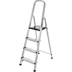 Σκάλα PALBEST Hobby αλουμινίου, 3+1 σκαλιών