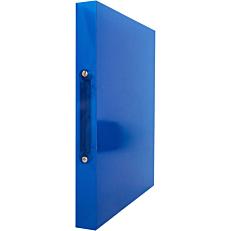 Κλασέρ Α4 PP με 2 κρίκους 19mm μπλε