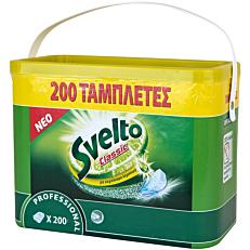 Απορρυπαντικό πιάτων SVELTO Pro, σε κάψουλες (200τεμ.)
