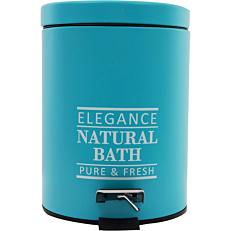 Πεντάλ Elegance μεταλλικό μπλε 5lt
