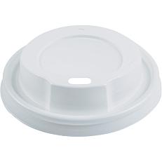 Καπάκια RIVA CLASSICS PS με τρύπα, λευκά 80mm (100τεμ.)