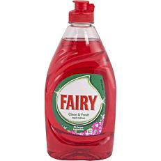 Απορρυπαντικό πιάτων FAIRY clean & fresh με άρωμα λουλουδιών, υγρό (400ml)