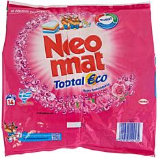 Απορρυπαντικό NEOMAT total eco refill πλυντηρίου ρούχων άγριο τριαντάφυλλο, σε σκόνη (14μεζ.)