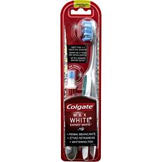 Οδοντόβουρτσα COLGATE + στυλό λεύκανσης max white expert white