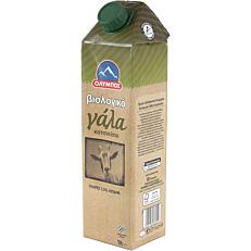 Γάλα ΟΛΥΜΠΟΣ κατσικίσιο 3,5% λιπαρά βιολογικό (bio) (1lt)