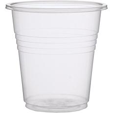Ποτήρια MELODY TIME πλαστικά PP διαφανή 100ml (2x25τεμ.)
