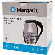 Βραστήρας MARGARIT γυάλινος 1,7lt 2200W