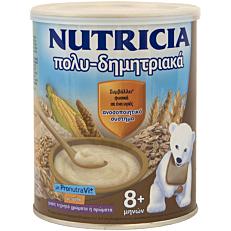 Παιδική κρέμα NUTRICIA πολυ-δημητριακά 8+ μηνών (300g)