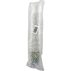 Ποτήρια πλαστικά PP διαφανή με σχέδιο juice 300ml (50τεμ.)
