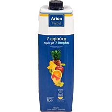 Χυμός ARION FOOD 7 φρούτα (1lt)