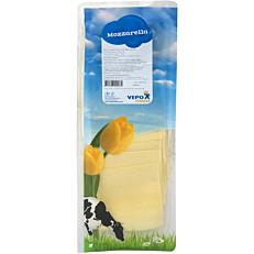 Τυρί VEPO mozzarella 40% λιπαρά σε φέτες (500g)