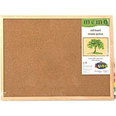 Πίνακας φελλού EuroOffice 30x40cm