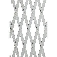 Πέργκολα πλαστική, λευκή 100x100cm